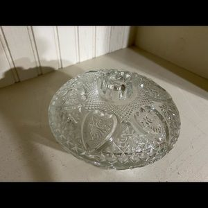 KIG Malaysia Dining - Vintage KIG Malaysia heart fleur de lis bowl
